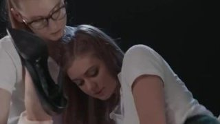 Bree Haze Is Happy To Teach A Pair of New Lesbian Students