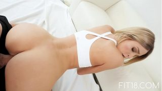 FIT18 – Emma Hix – 47kg – Casting Skinny Canadian Blonde – 60FPS