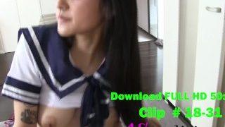 Uncensored Japanese Schoolgirl POV Creampie pv 2