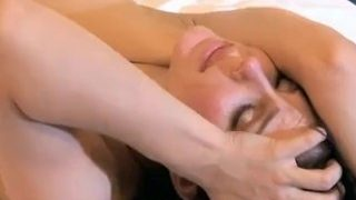 Lily Luvs and Bobbi Starr get saucy in bed